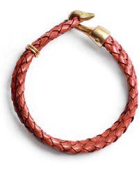 Lulu Frost G Frost Double Strand Harpoon Bracelet - Rust - Lyst