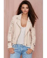 Nasty Gal Leather - Slayer Moto Jacket - Lyst
