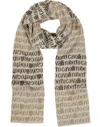 Roberto Cavalli   Signature Woven Wool Blend Men's Scarf   Lyst
