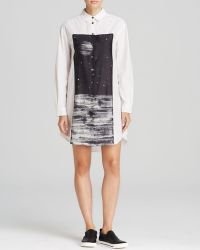 Marc By Marc Jacobs Shirt Dress - Lyra Washed Poplin - Lyst