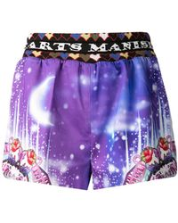 Manish Arora Night Lights Strawberry Shorts - Lyst