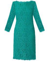 Diane Von Furstenberg Zarita Long Dress - Lyst