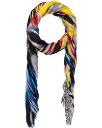 Twelfth Street Cynthia Vincent Midnight Monet Scarf - Multicolor