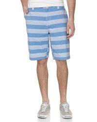 Robert Graham Flatfront Striped Shorts - Lyst