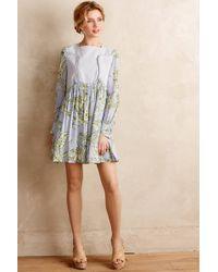 Karen Walker - Pleated Greenhouse Dress - Lyst