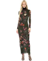Jean Paul Gaultier Floral Maxi Dress  - Lyst