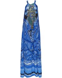Camilla A World Between The Wrap Printed Maxi Dress multicolor - Lyst