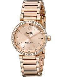 Coach 1941 Sport 30Mm Bracelet Watch - Lyst
