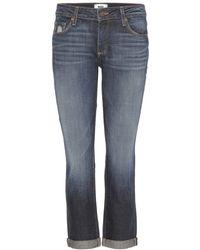 Paige Jimmy Jimmy Crop Boyfriend Jeans - Lyst