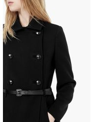 Mango - Double Breasted Coat - Lyst