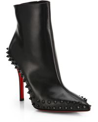 Christian Louboutin Willetta Studded Ankle Boots - Lyst