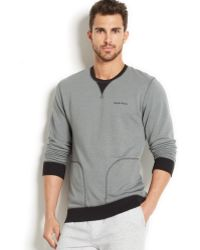 Calvin Klein French Terry Crew-neck Sweatshirt - Lyst