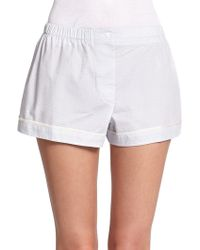 Araks Tia Silk Boxer Shorts - Lyst
