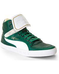 Alexander McQueen x Puma Green Street Climb Iii Mid-top Sneakers - Lyst