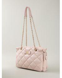 Ferragamo Ginette Quilted Shoulder Bag - Lyst