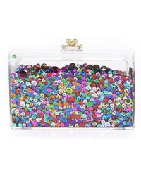 One By Glimmer Clutch - Rainbow - Multicolor