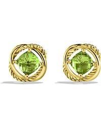 David Yurman Infinity Earrings - Lyst