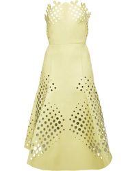Ioana Ciolacu Target Dress in Cosmic Latte - Lyst