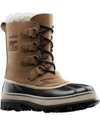 Sorel Caribou Waterproof Leather Boots - Lyst