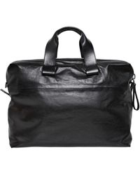 Lanvin - Small Nappa Leather Bowling Bag - Lyst