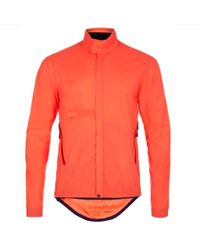 Paul Smith 531 Orange Wind And Shower Resistant Packable Cycling Jacket orange - Lyst