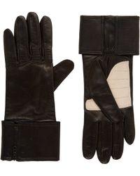 3.1 Phillip Lim - Leather Biker Gloves - Lyst