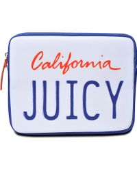 Juicy Couture - License Plate Ipad Case - Lyst