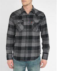 Levi's | Blue Western Denim Pr Shirt | Lyst