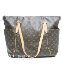 Louis Vuitton Pre-Owned Monogram Canvas Totally Gm Bag - Lyst