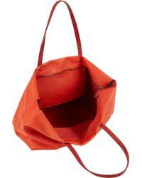 Barneys New York Ziptop Tote Bag - Lyst
