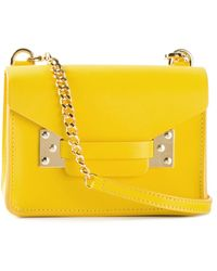 Sophie Hulme Mini Envelope Shoulder Bag - Lyst