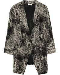 Day Birger Et Mikkelsen Printed Silk Jacket - Lyst