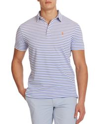 Polo Ralph Lauren Striped Featherweight Polo - Lyst