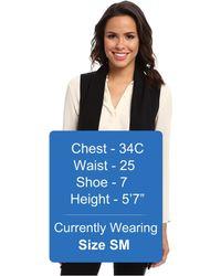 Calvin Klein Flyaway Sweater Vest - Black