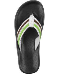 BOSS Green - 'Shoreline Water' | Striped Flip Flops - Lyst
