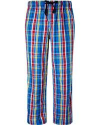 John Lewis Woven Cotton Check Pyjama Bottoms