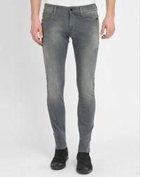 G-Star RAW | Grey Revend Super-slim Jeans | Lyst