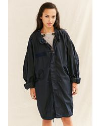 Urban Renewal - Recycled Over-Dyed Fishtail Parka - Lyst