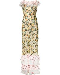 Duro Olowu Daisy Print Ruffled Dress - Multicolor