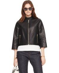974ac511f Salma Leather Jacket - Black
