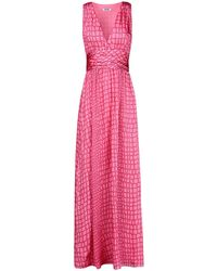 Moschino Cheap & Chic Long Dress - Lyst