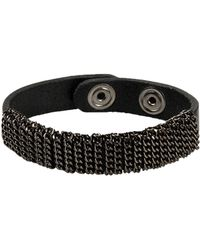 Diesel Bracelet - Lyst