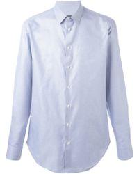 Giorgio Armani - Micro Print Shirt - Lyst