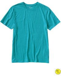 Banana Republic Factory Fitted Crew Neck Tee River Teal - Lyst