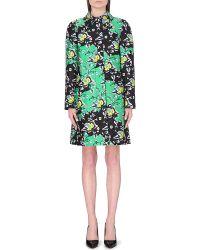 Diane von Furstenberg Armana Printed Wool Silk Coat - For Women - Lyst