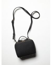 Free People Vegan Cobra Crossbody - Lyst