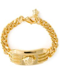 Versace Rectangular Medusa Bracelet - Lyst