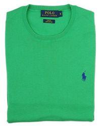 Ralph Lauren Blue Label Green Sweater green - Lyst