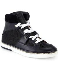 Jimmy Choo Viper Room High-Top Sneakers - Lyst