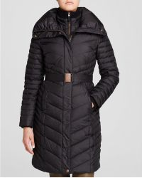 Marc New York Katy Belted Puffer Coat - Black